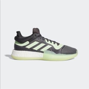 NWOT Adidas Marquee Boost Low Gray Neon